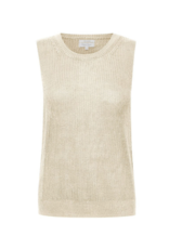 Part Two Inia Sleeveless Top in Whitecap by Part Two