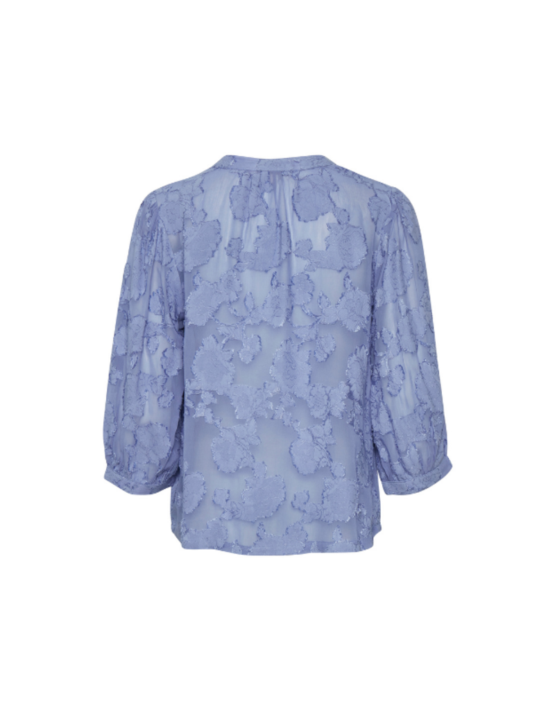 Part Two Heldrun Shirt in Colony Blue by Part Two