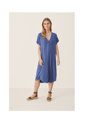 Part Two Isola Modal Dress in Gray Blue by Part Two