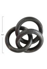 Bloomingville Black Marble Chain Decor