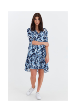 b.young Genny Dress in Copenhagen Night by b.young