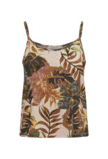 Cindy Jersey Top in Gold Jungle by Cream