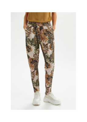 Cindy Jersey Pant in Gold Jungle by Cream