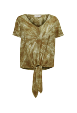 Cream Huvela Blouse in Army Tie Dye by Cream