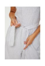 Venta Jumpsuit in Blue Stripe by Cream