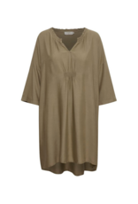 Line Tunic in Timber Wolf by Cream