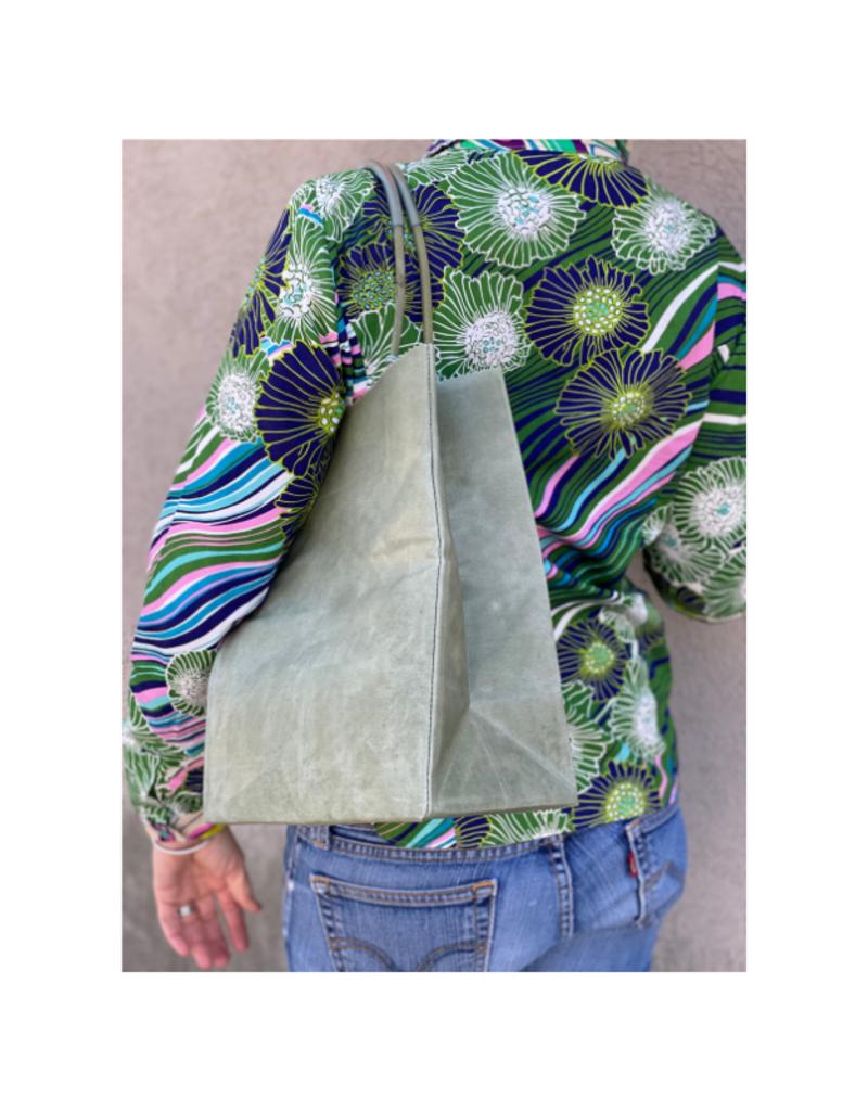 Brave Brown Bag Market Sac Midi in Sage by Brave Brown Bag