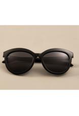 PILGRIM Tulia Sunglasses in Black by Pilgrim