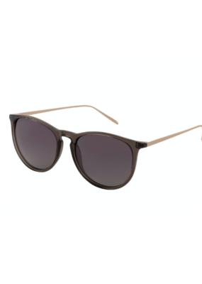 PILGRIM Vanille Sunglasses in Gold Grey by Pilgrim