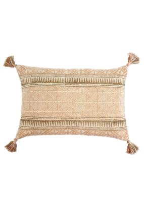 Indaba Trading Sierra Pillow in Dusty Rose