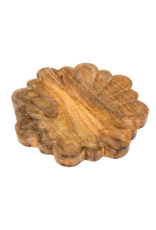 Indaba Trading Lily Wooden Tray Large