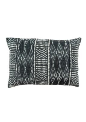 Indaba Trading Dabu Indigo Pillow