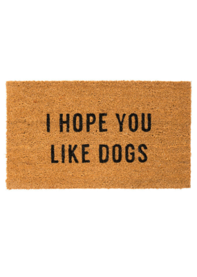 Indaba Trading Hope You Like Dogs Doormat