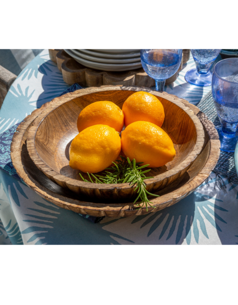 Indaba Trading Bario Wooden Bowl Large