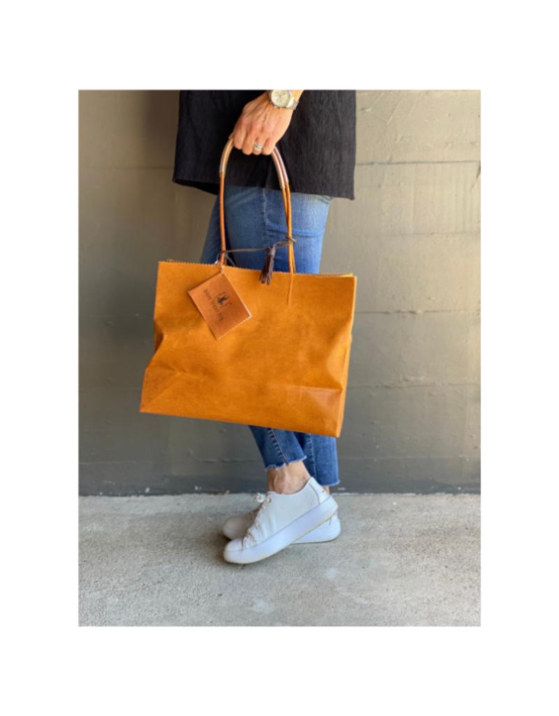 Brave Brown Bag Shopper Marche in Cedar by Brave Brown Bag