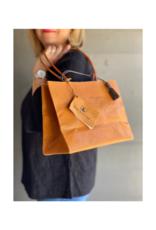 Brave Brown Bag Shopper Madi in Cedar by Brave Brown Bag