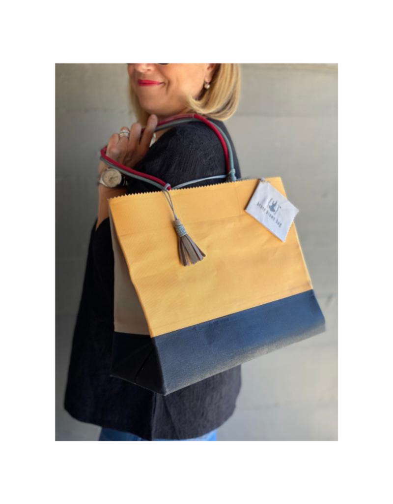 Brave Brown Bag Munari Marche Bag in Shade #1 by Brave Brown Bag