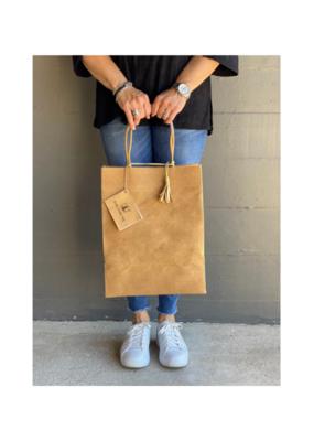 Brave Brown Bag Market Sac Maxi in Tabac by Brave Brown Bag