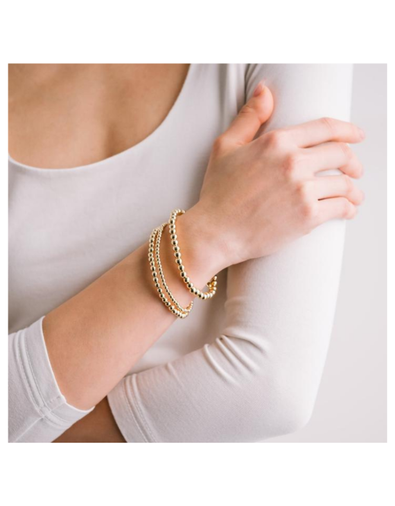 Lover's Tempo Golden Hour Medium Stretch Bracelet in Gold by Lovers Tempo