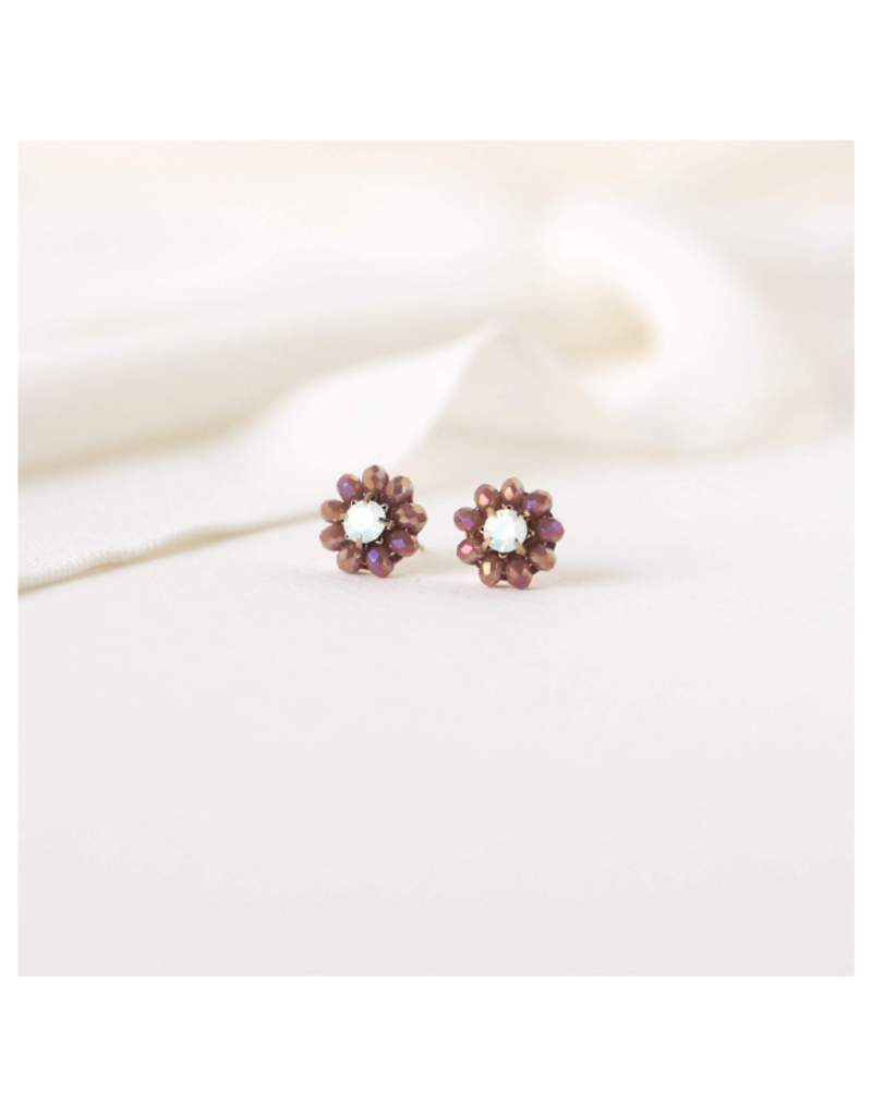 Lover's Tempo Forget Me Not Stud Earrings by Lovers Tempo