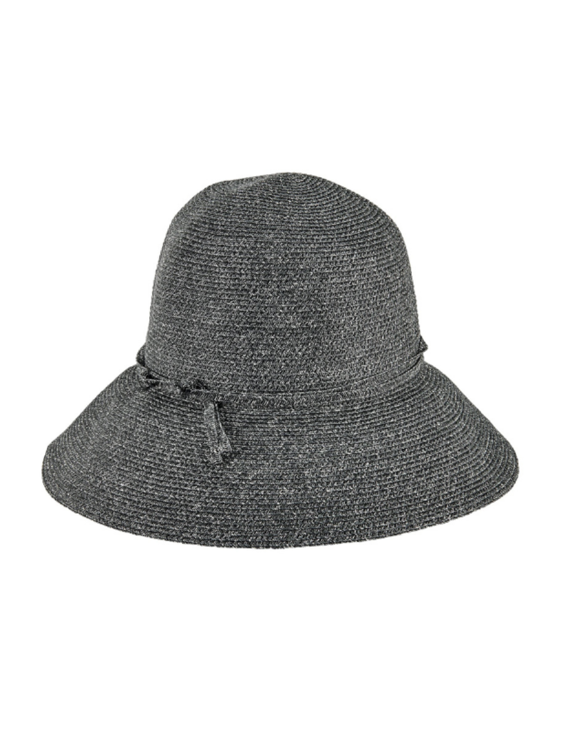 San Diego Hats Packable Cloche Hat Black by San Diego Hat Company