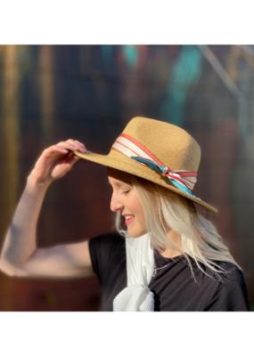 San Diego Hats Silky Scarf Fedora by San Diego Hat Company