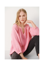 Part Two Hikma Linen Blouse in Sea Pink by Part Two