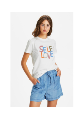 Soaked in Luxury Self Love Tee White by Soaked in Luxury