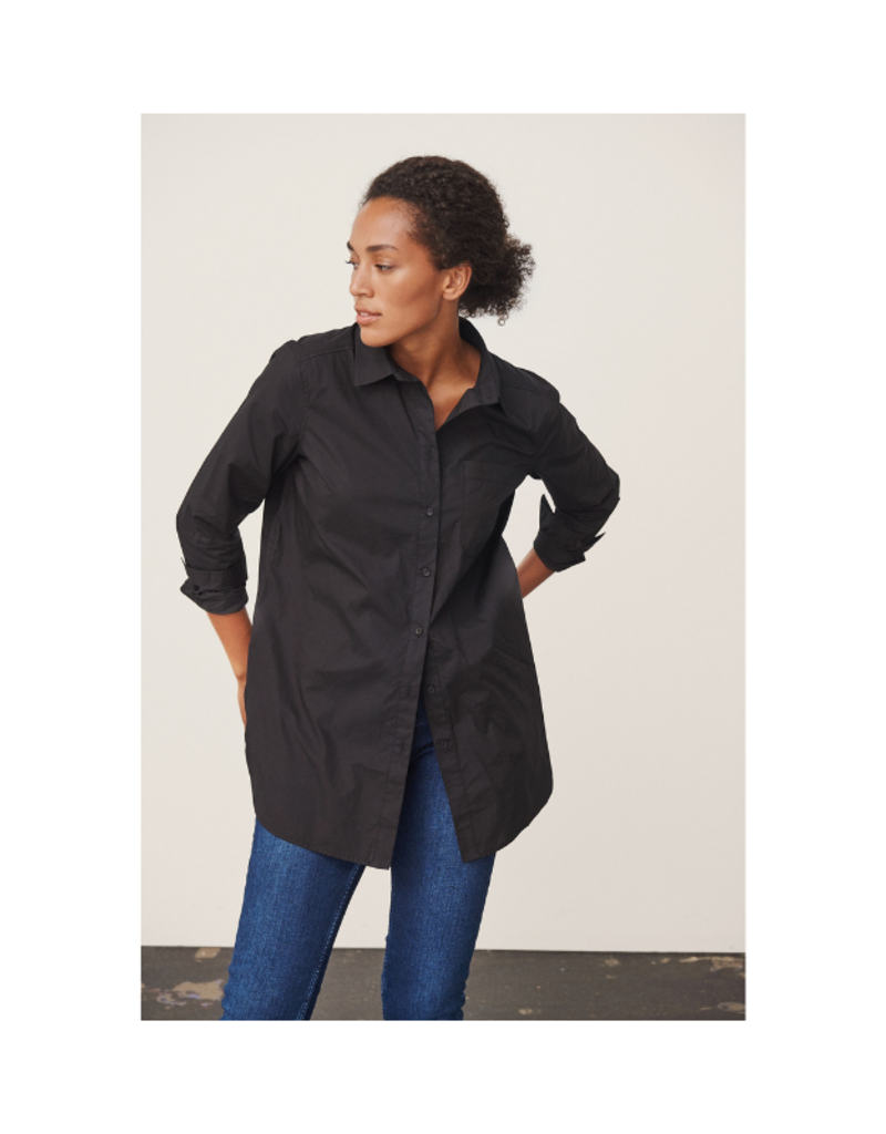 Part Two Lulas Shirt in Black by Part Two