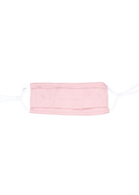 lemonwood Pleated Silk Face Mask in Pink
