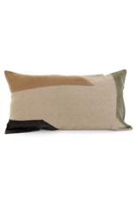 Salazar Sage Print Cushion Lumbar