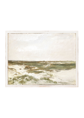 """The Dunes at Camiers c. 1871"" - Petite Scapes Art Print"