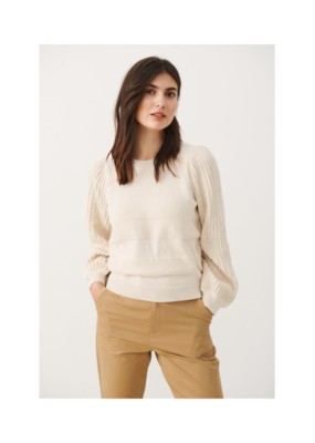 Part Two Jolina Sweater in Whitecap Grey by Part Two
