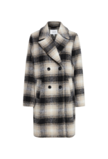 b.young Bamia Coat in Black Mix by b.young