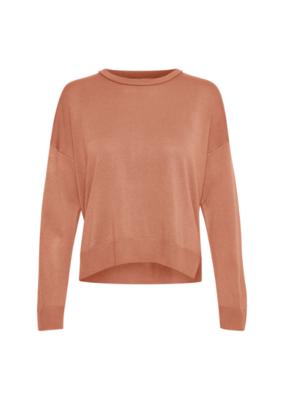 InWear Innes Slit Sweater in Cafe Creme by InWear