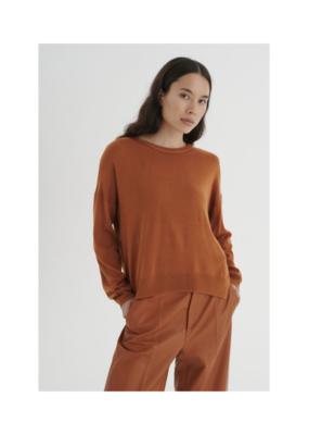 InWear Innes Slit Sweater in Honey by InWear
