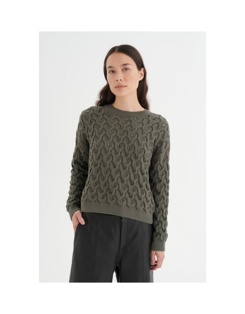 InWear Inora Sweater in Bettle Green by InWear