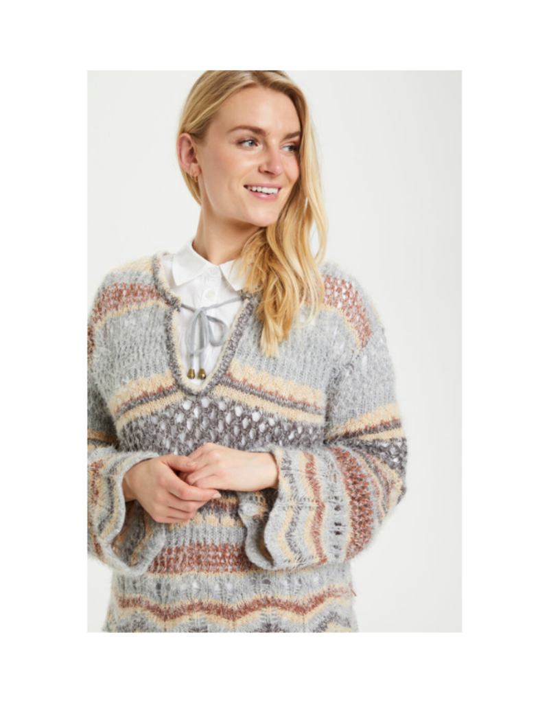 Cream Lilii Sweater in Eggnog Sea Mix by Cream