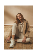 Cream Frona Sweatshirt in Oat Melange by Cream