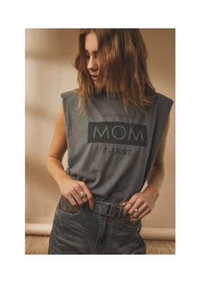 Cream Sune T-shirt in Dark Gull Gray by Cream