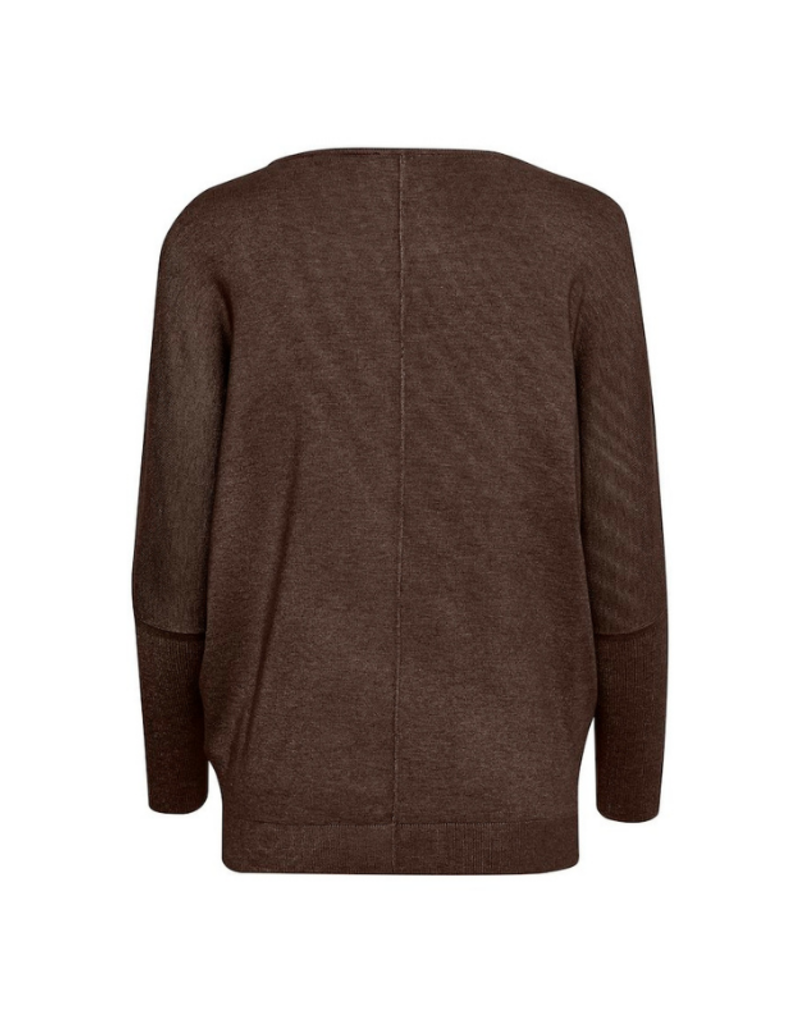 b.young Pimba Bat Sweater in Java Melange by b.young
