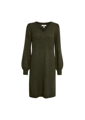 b.young Milo Dress in Rosin Melange by b.young
