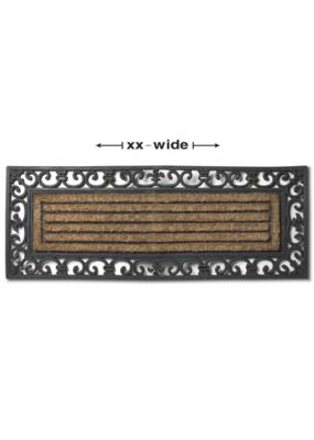 FLEUR de LIS Double Doormat