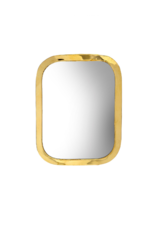 Indaba Trading Moroccan Mirror Large in Brass by Indaba