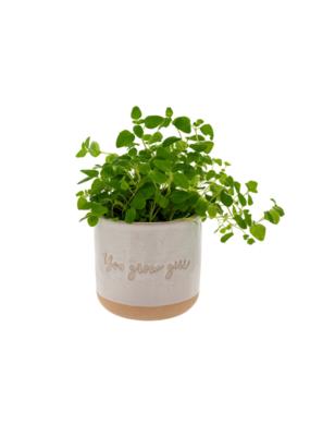 Indaba Trading You Grow Girl Planter by Indaba