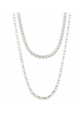 Clarity Multi Purpose Chain Silver-Plated by Pilgrim