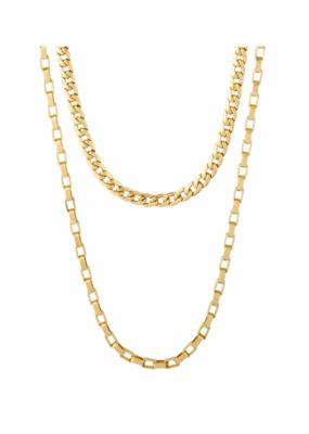 PILGRIM Clarity Multi Purpose Chain Gold-Plated by Pilgrim