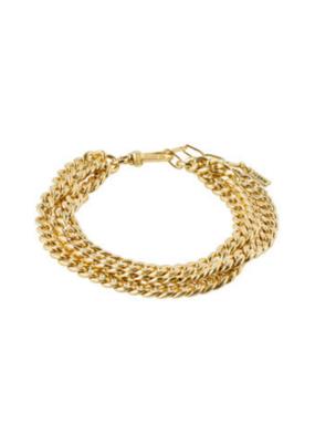 PILGRIM Authenticity Bracelet Gold-Plated by Pilgrim