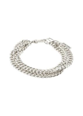 PILGRIM Authenticity Bracelet Silver-Plated by Pilgrim
