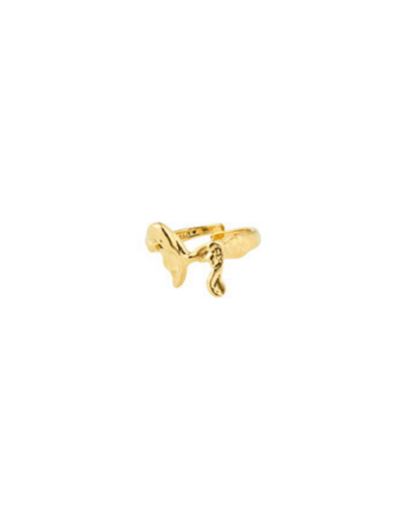 PILGRIM Authenticity Ring Gold-Plated by Pilgrim
